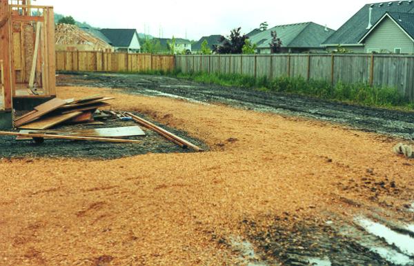 Mud Control around New Construction
